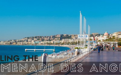 Strolling the Promenade des Anglais via @TravelLatte.net