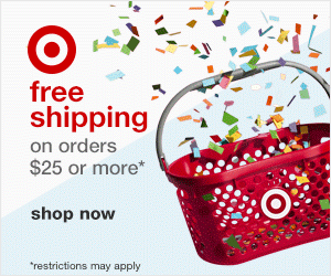 Free shipping at Target, via @TravelLatte.net