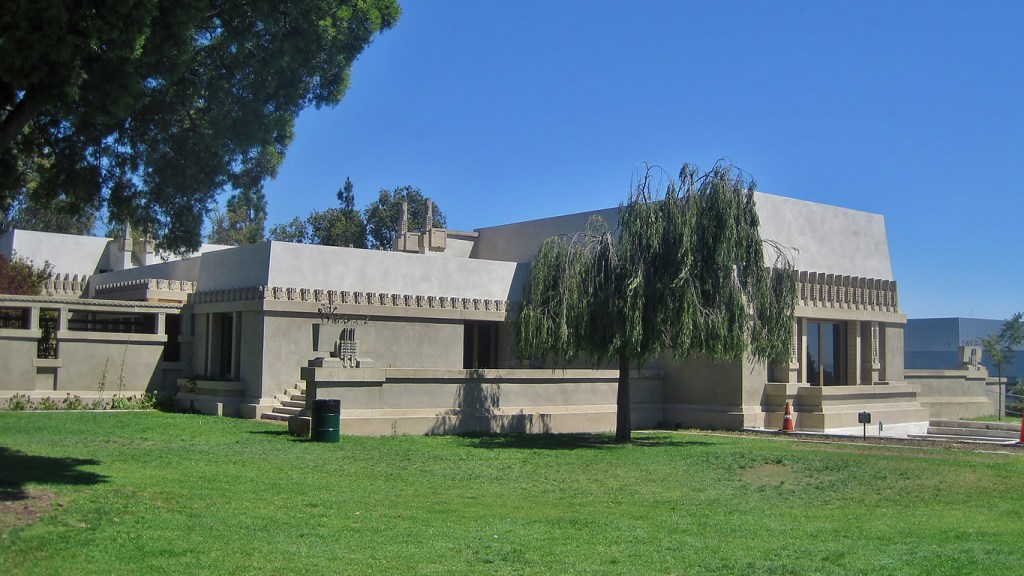 Hollyhock House - Will Travel for the (Frank Lloyd) Wright Sights, via @TravelLatte.net