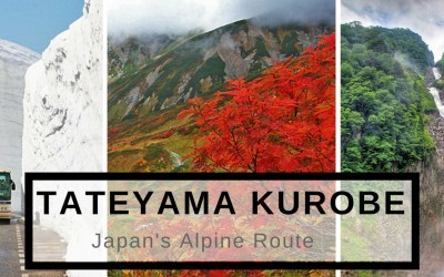 Travel To Do List: Tateyama Kurobe, Japan's Alpine Route, via @TravelLatte.net