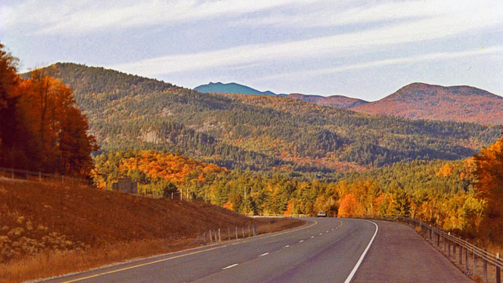 Adirondack Northway in Three Terrific Trips You'll Love for Festive Fall Color via @TravelLatte.net