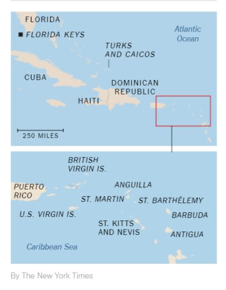 Where Irma Hit (map): The Best Places to Donate to Help the Caribbean after Irma, via @TravelLatte.net