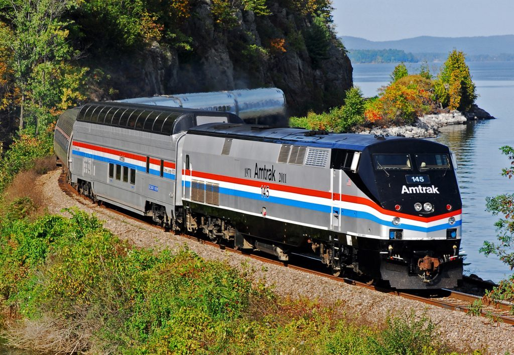 Amtrak Adirondack in Three Terrific Trips You'll Love for Festive Fall Color via @TravelLatte.net