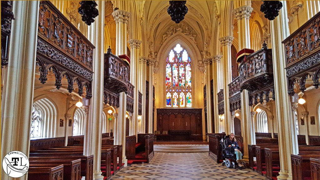 Chapel Royal at Dublin Castle in Top 5 Castle Day Trips from Dublin via @TravelLatte.net