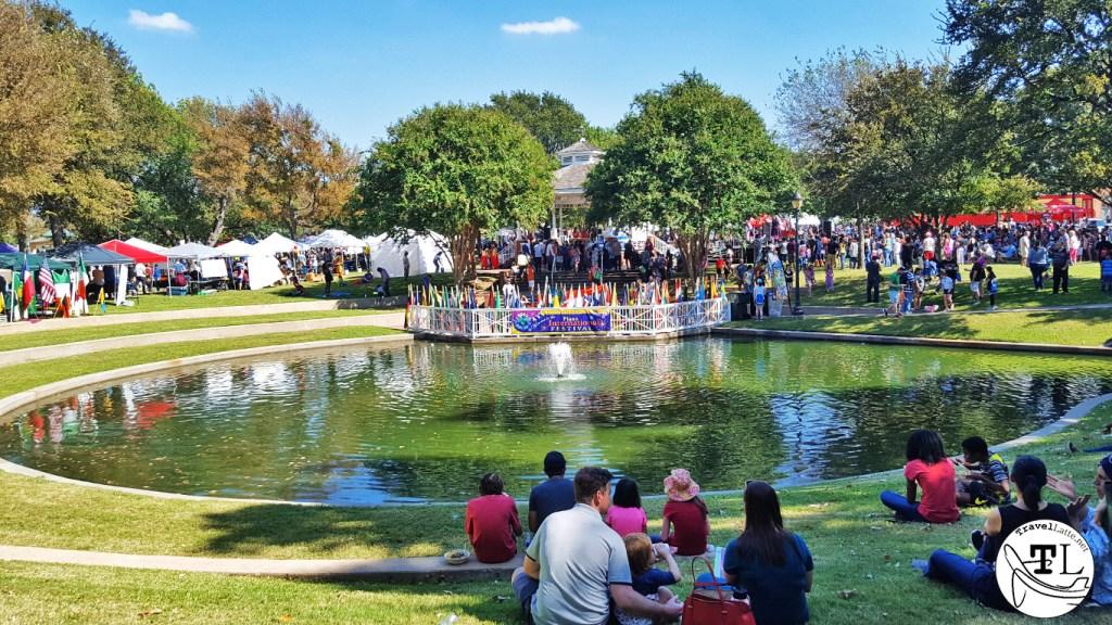 The Plano International Festival at Haggard Park, Plano, Texas, via TravelLatte.net