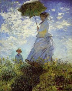 Woman with a Parasol - Summer Travel Tips to Stay Cool via @TravelLatte.net