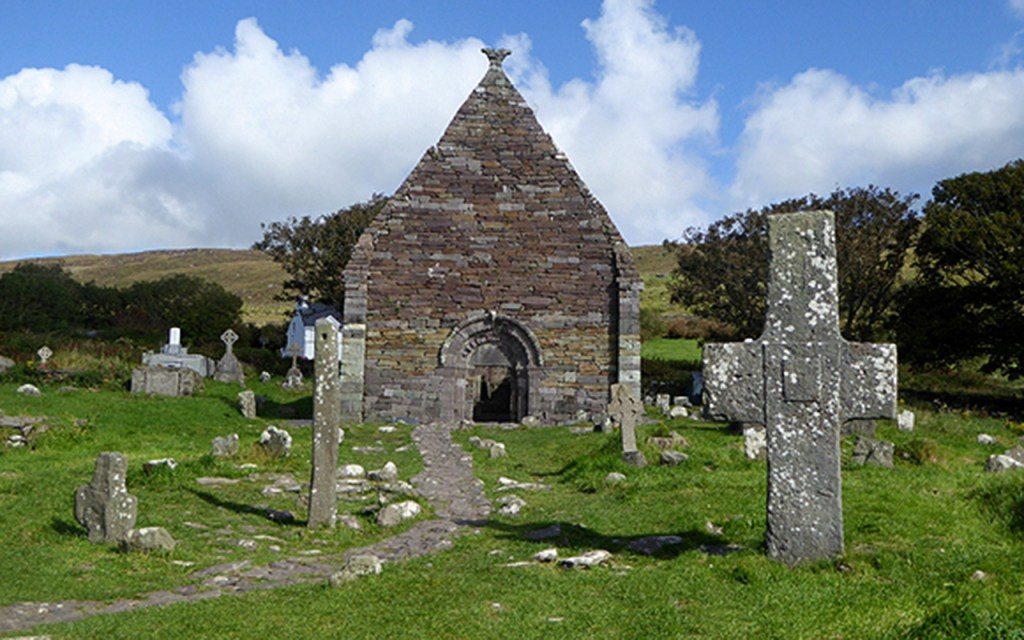 Kilmalkedar Church on Ireland's Scenic Slea Head Drive via @TravelLatte.net