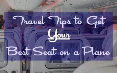 Travel Tips to Get Your Best Seat on a Plane - TravelLatte