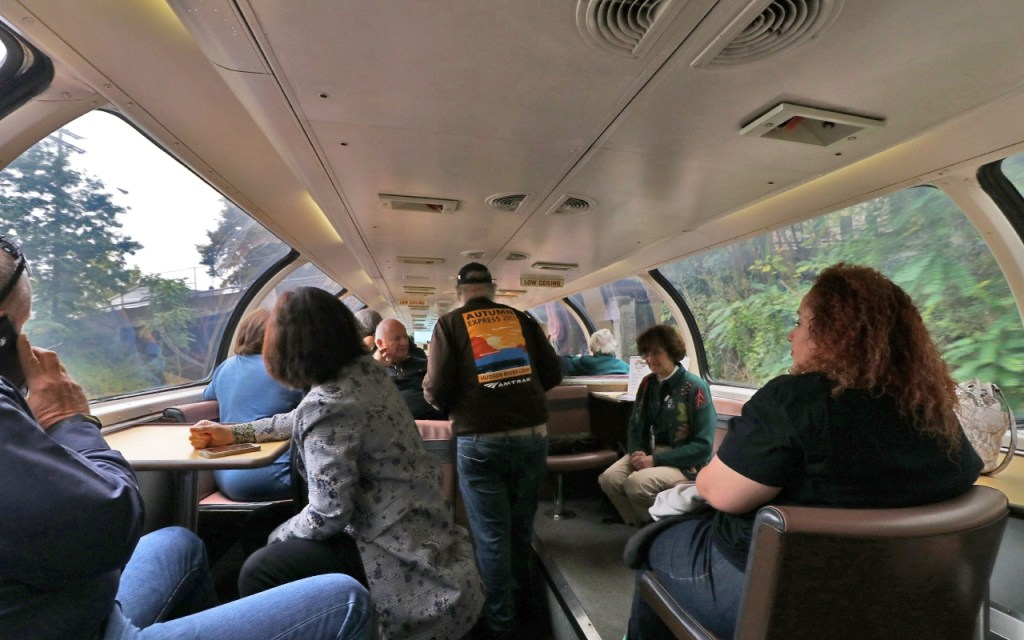 Amtrak Adirondack - Inside the Great Dome Car by TravelLatte