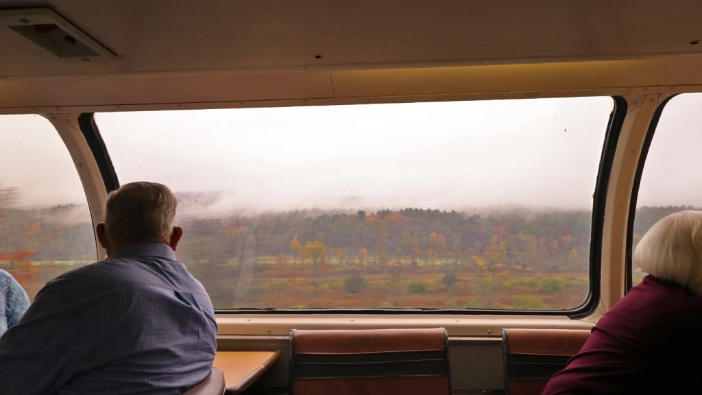 Amtrak Adirondack - View from the Great Dome Car by TravelLatte