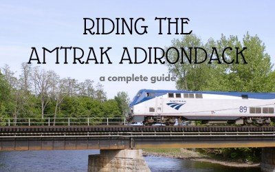 Riding Amtrak Adirondack - A Complete Guide - TravelLatte.net