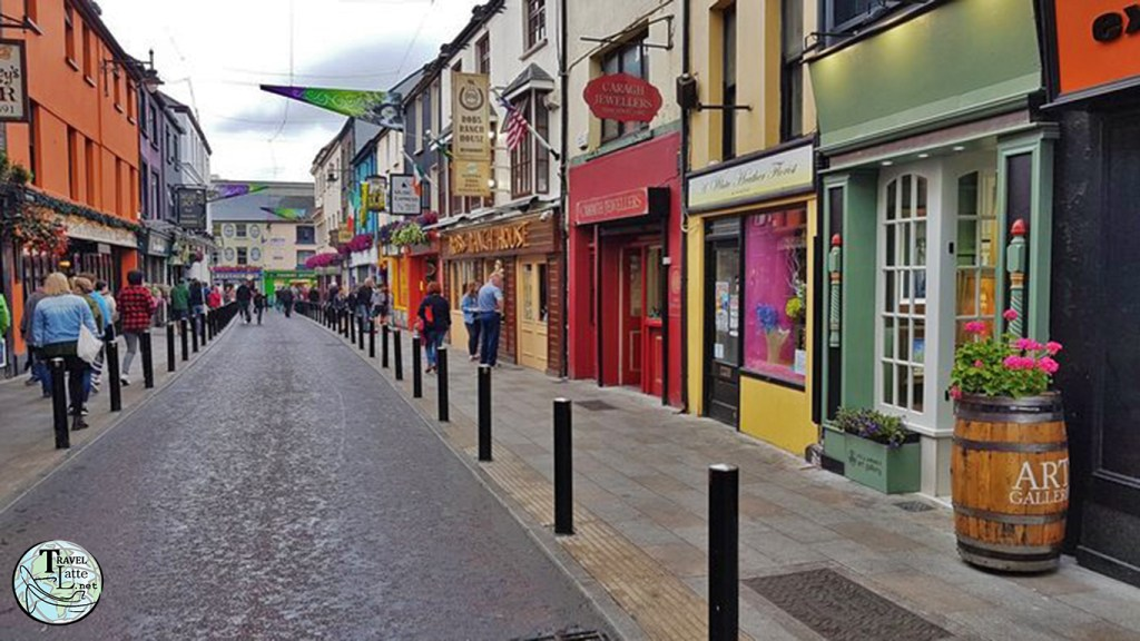 Plunkett Street in Killarney - Stay at The Brehon - Affordable Luxury Hotel in Ireland - TravelLatte