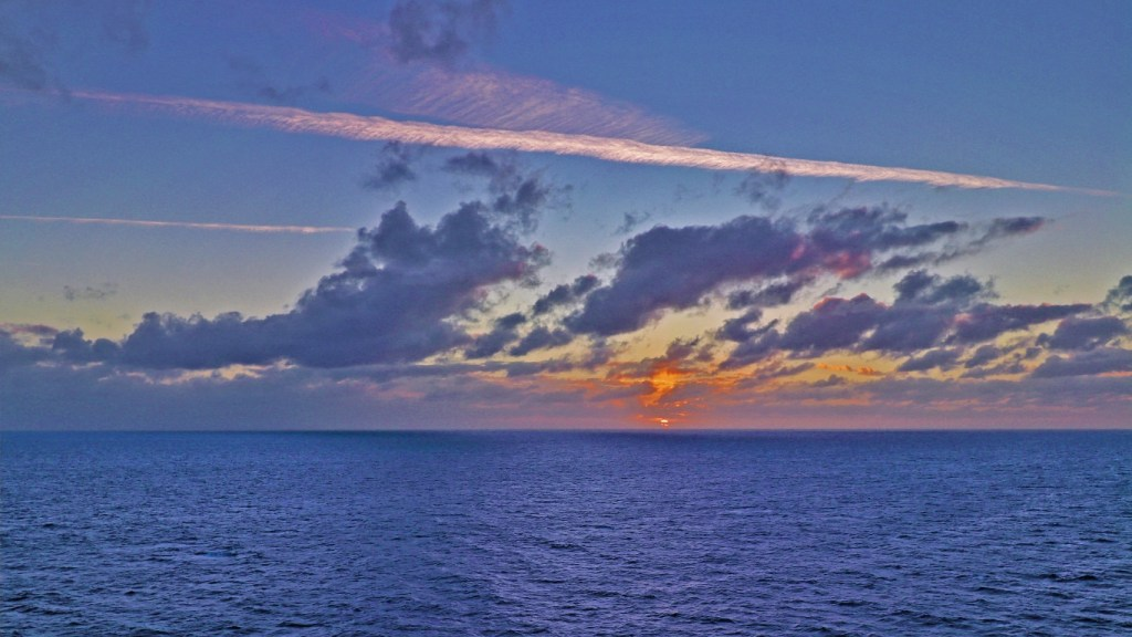 TravelLatte - Why We Love to Cruise - Caribbean Sunset