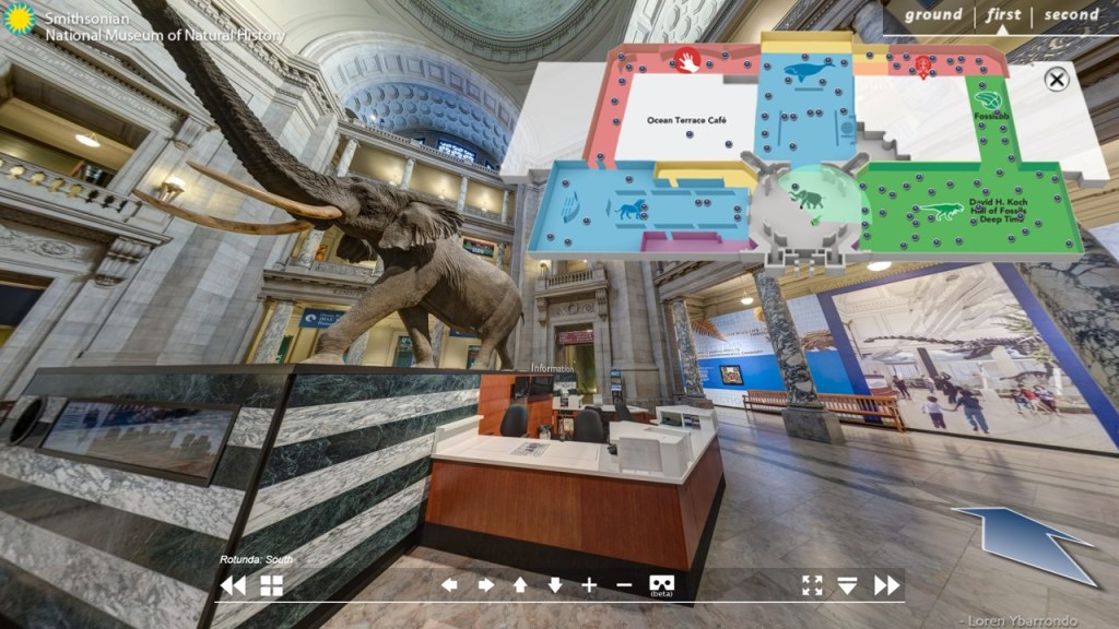 SNMNH Virtual Tour - Museum Edition - Armchair Traveler - TravelLatte