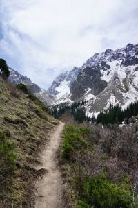 Kyrgyzstan Tourism: A Hiking Trail