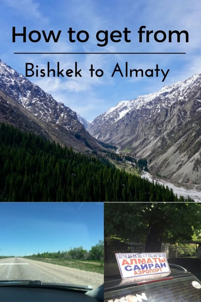 How to get from Bishkek to Almaty