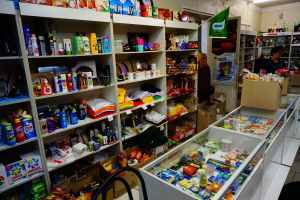 Chernobyl today: a convenience store