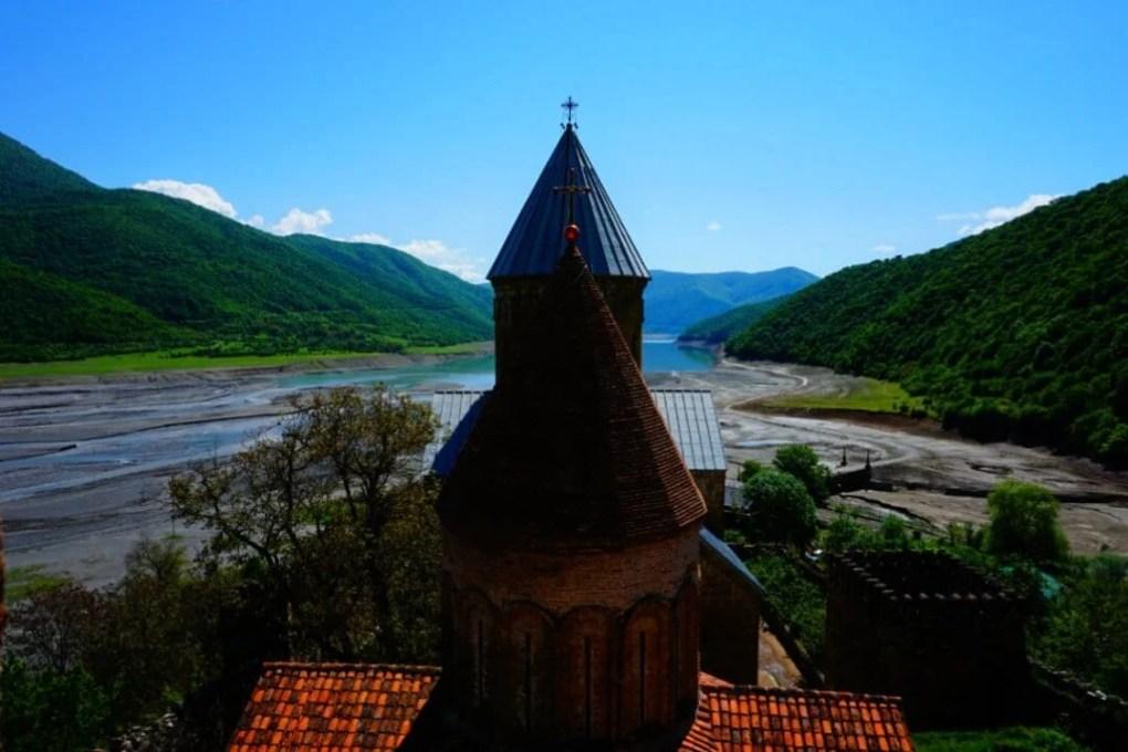 Places to visit in Georgia Europe Ananuri