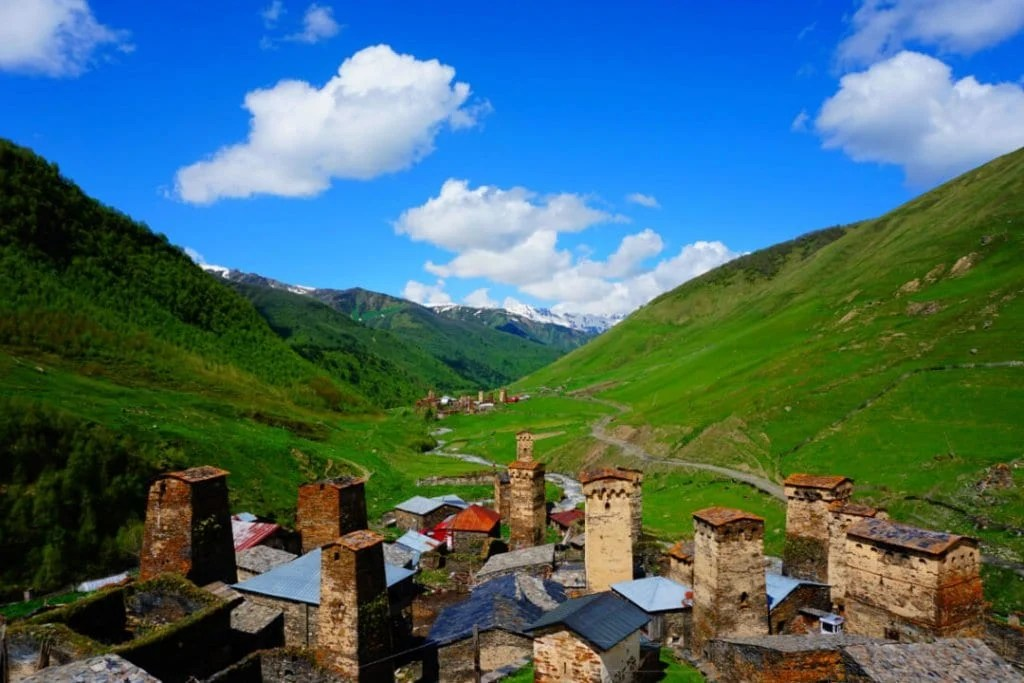 9 of the Best Places to Visit in Georgia  Europe    Travel Lemming Places to visit in Georgia Europe Ushguli