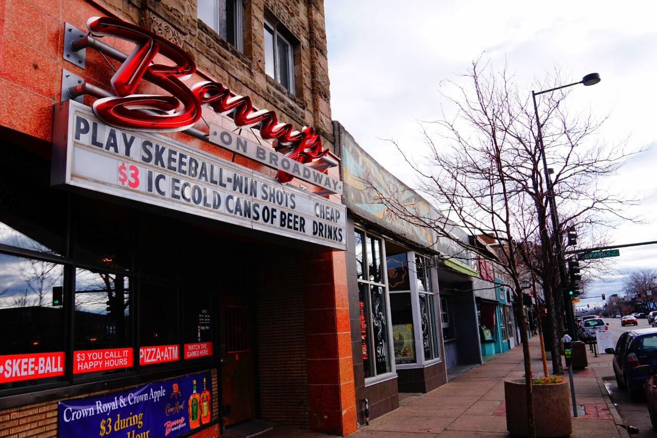 South Broadway Area of Denver Colorado