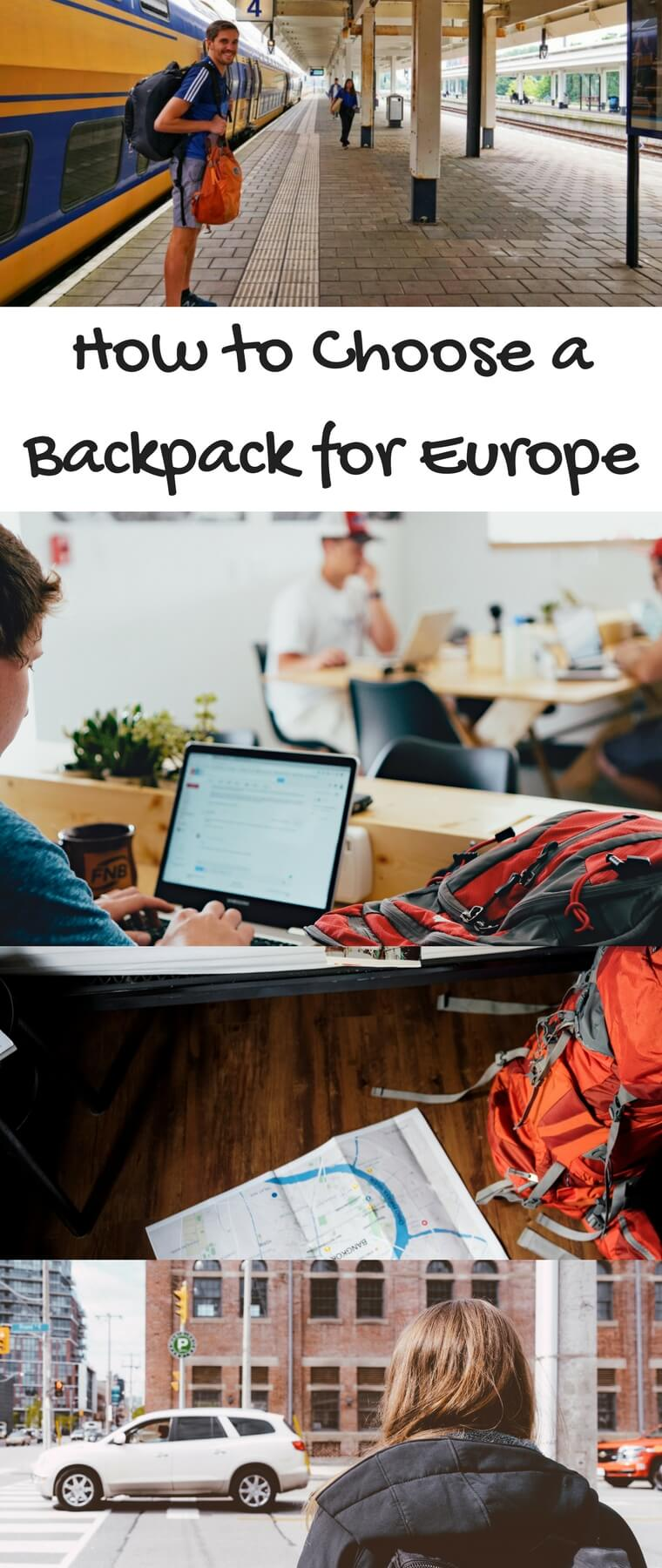 Looking for the best backpacks for traveling in Europe? Check out this guide on how to choose the perfect backpack for Europe. Whether you are going to Spain, London, Paris, or anywhere else in Europe, this will help you pick the right backpack for your EuroTrip! #backpack #Europe
