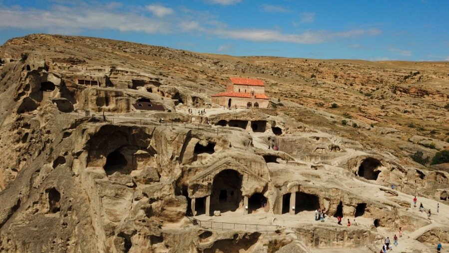 The Uplistsikhe caves, one of the top attractions in Georgia