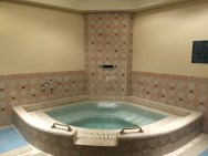 Jacuzzi in the Spa