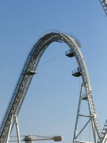 Massive lift hill