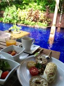 """""""Al Fresco"""" Breakfast by the pool"""