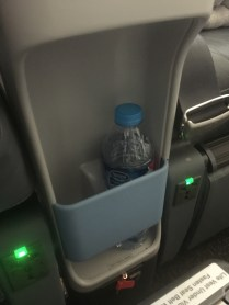 Space for bottle of water ( my own bottle )