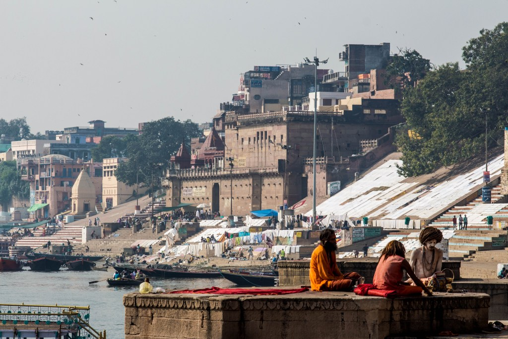Varanasi-ghat-at-morning
