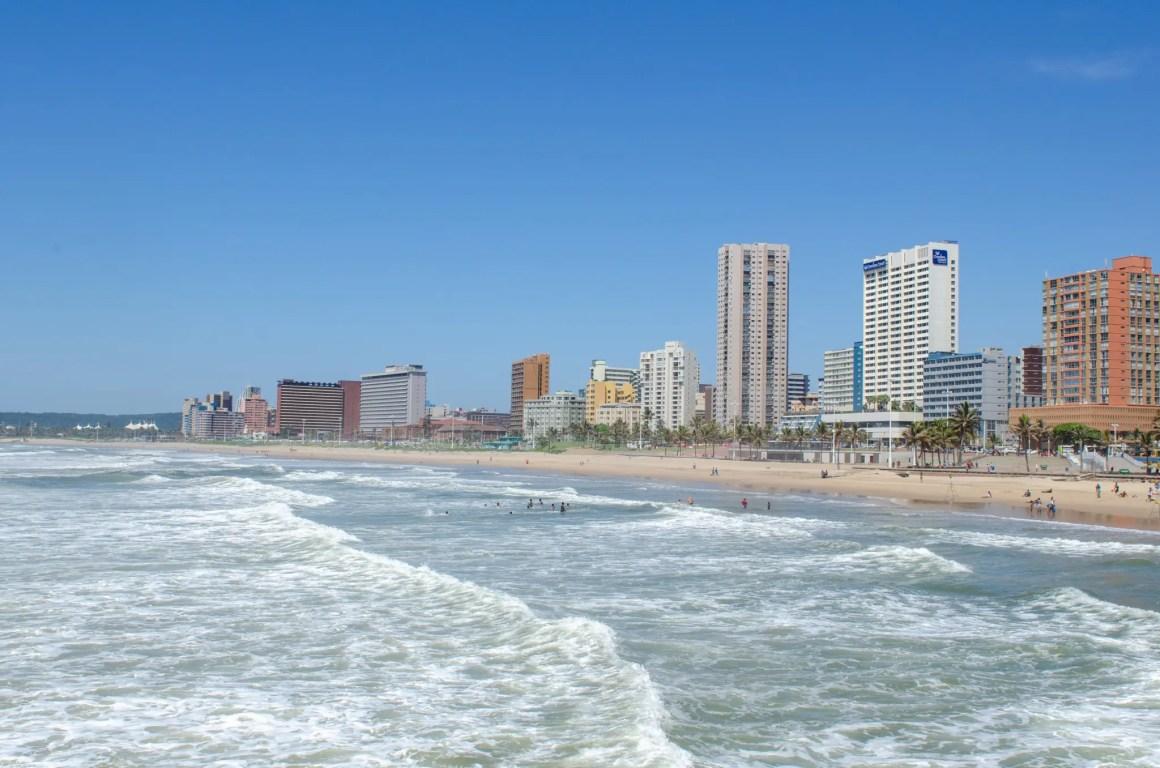 Port Elizabeth in Zuid-Afrika