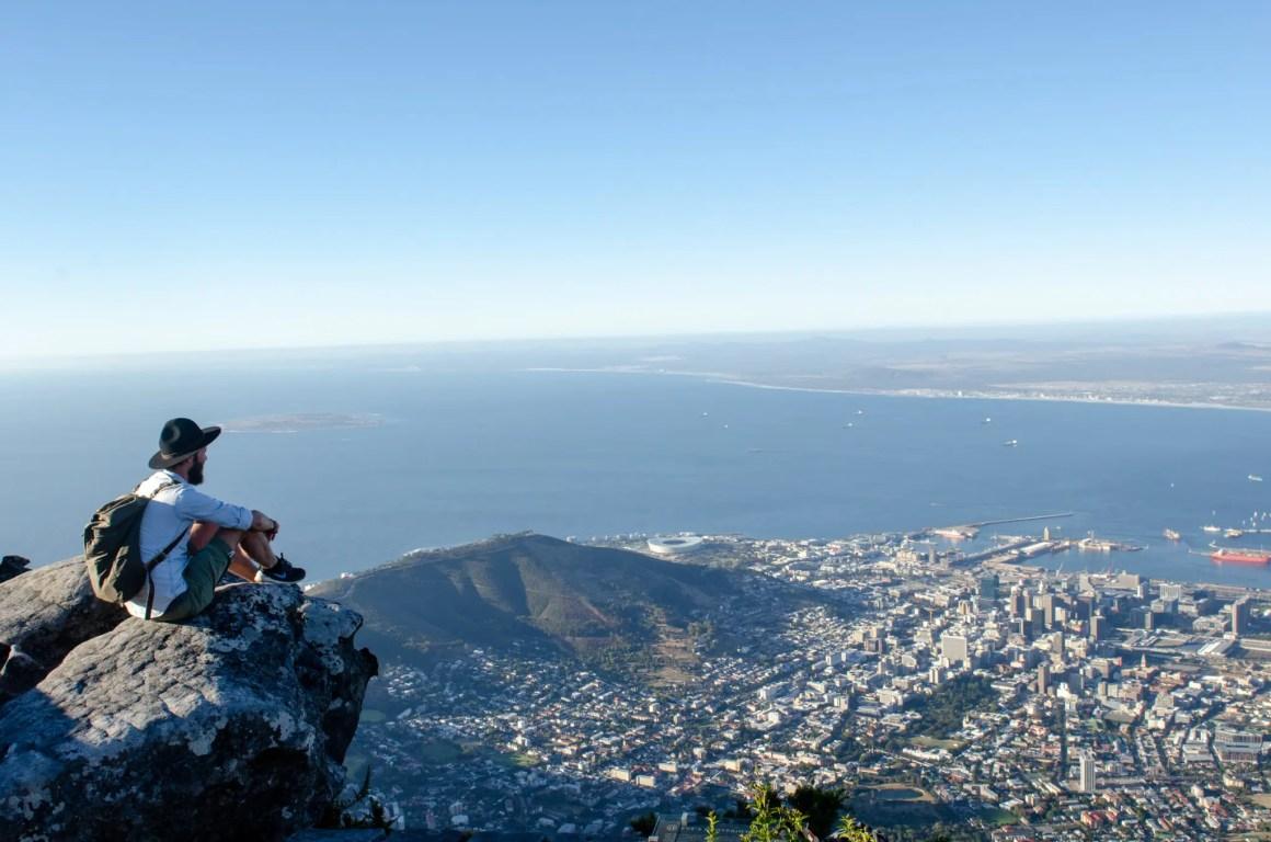 Een van de belangrijkste bezienswaardigheden in Zuid-Afrika is de Tafelberg in Kaapstad