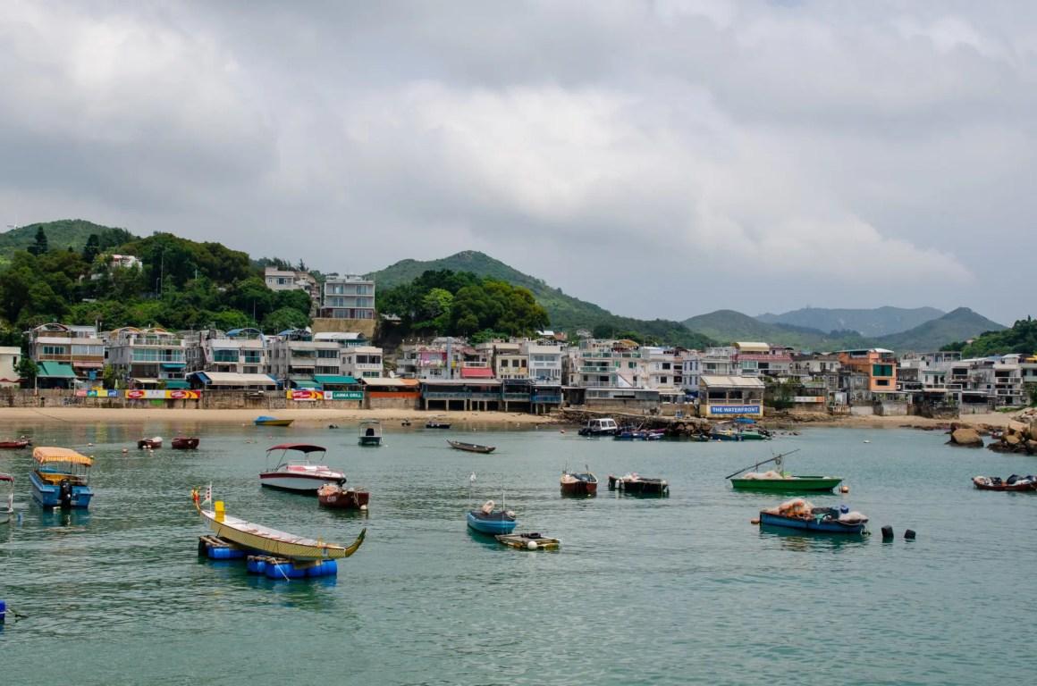 Hoteltips in Hong Kong bevatten ook Lamma Island