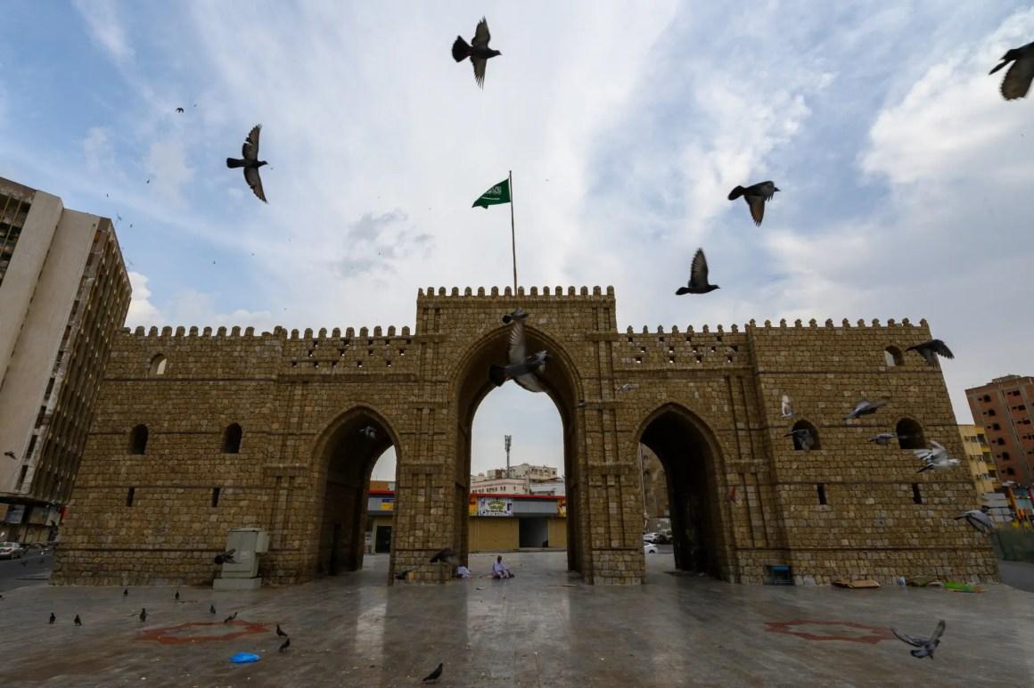 Mekkah Gate in Jeddah Saoedi-Arabië