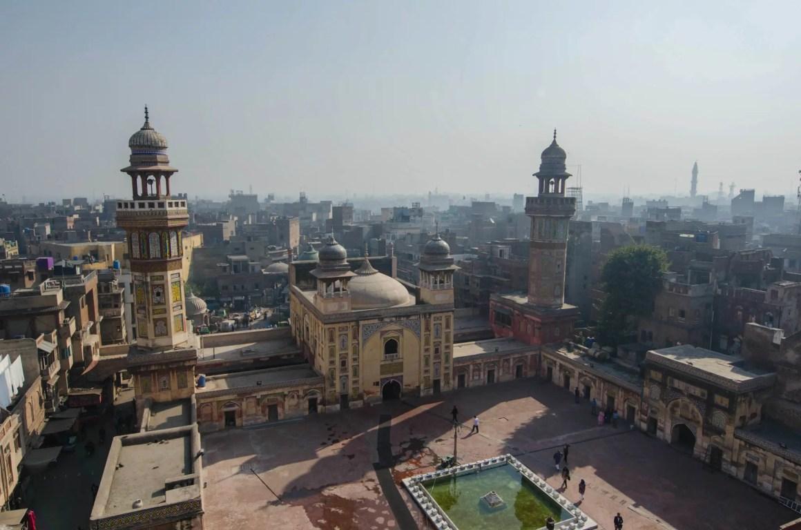 Binnenplaats van de Wazir Khan-moskee