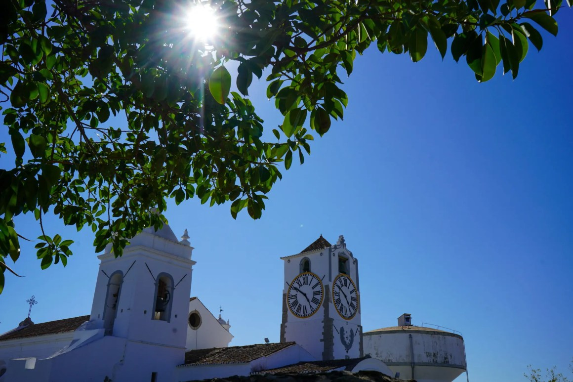 De kathedraal in Tavira