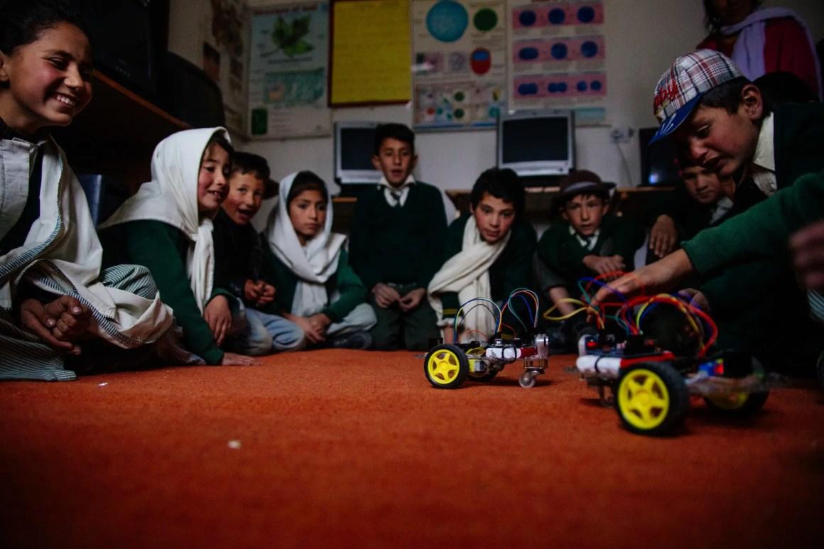 IEI Pakistan Robotics-programma