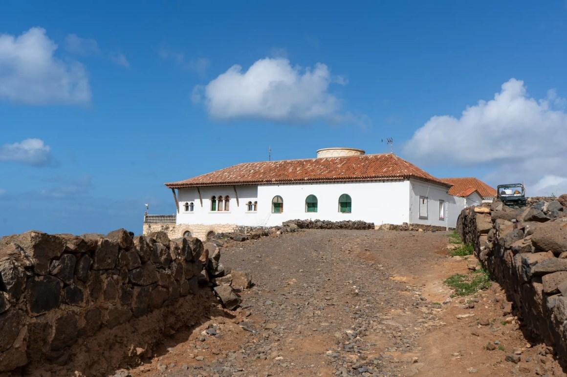 Locatie van Villa Winter op Fuerteventura