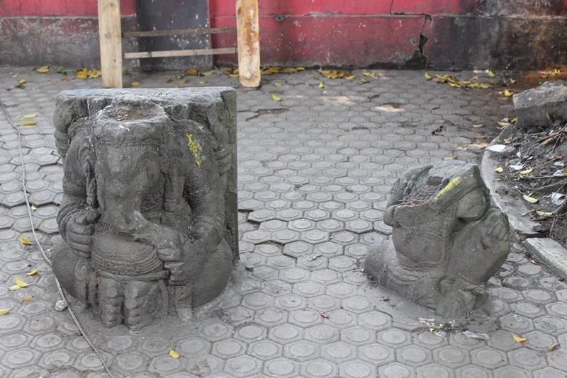 Arca Ringin Budho di Jantung Kota Pare Kediri 1