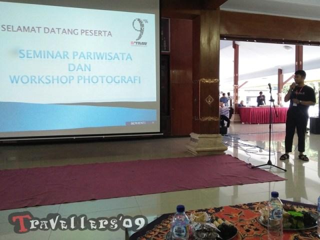 Seminar Pariwisata dan Workshop Fotografi, dalam Rangkaian Peringatan 9 Tahun DTrav 22