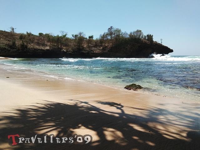 Pantai Selok Dadap di Barat Pantai Pudak Blitar 4