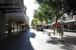 Rundle Mall in Adeleaide