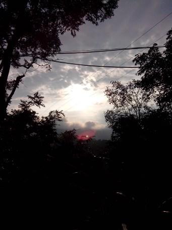 Sunsets and Street Inside-Jansooh -Village Travel Pathway Pics