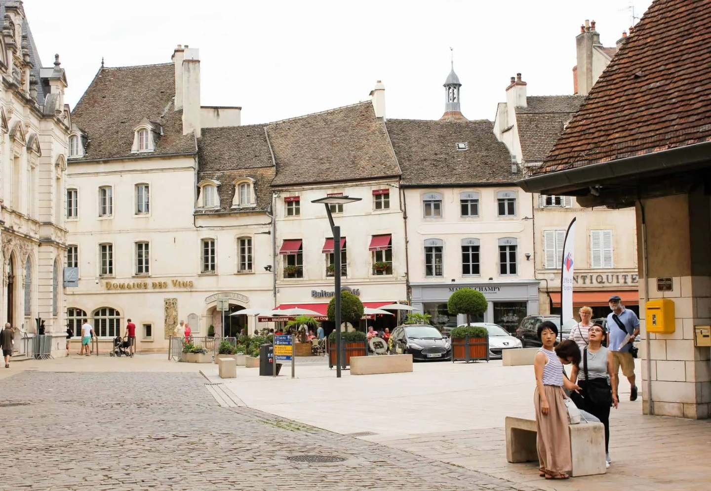 Love French wine? Visit wine capital of Burgundy Beaune.