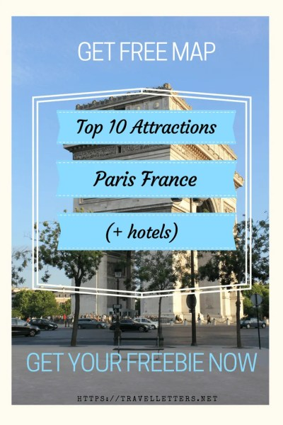 Get an overview of top 10 attractions in Paris France. Download your free map