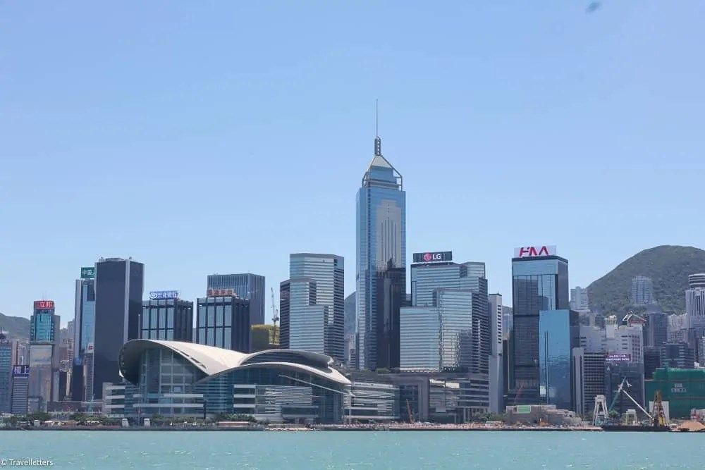 Hong Kong island skyline, things to do in Hong Kong