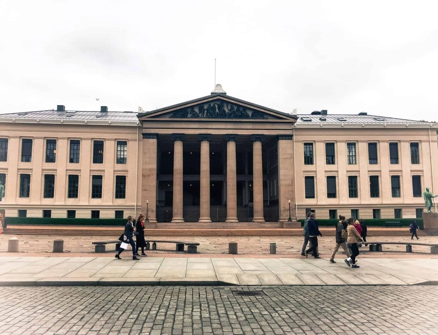 best time to visit Oslo, things to do in Oslo, free things to do in Oslo, fun things to do in Oslo, Oslo in spring, Oslo University, Karl Johan street