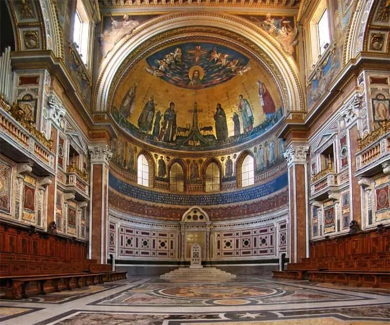 Basilica St. John Lateran in Rome