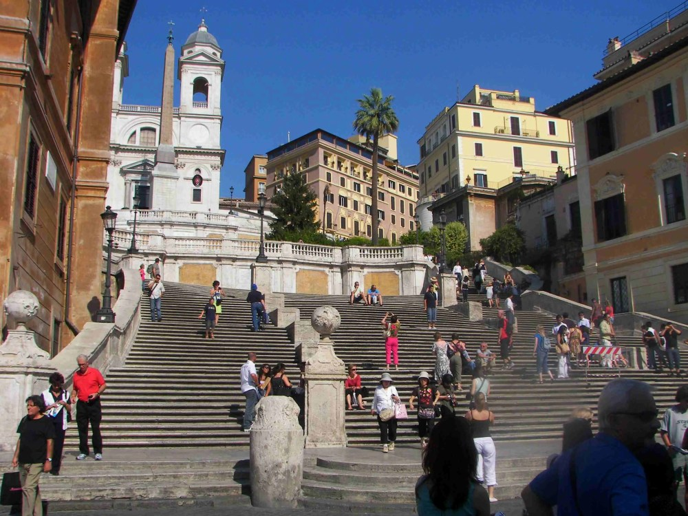 The Spanish Steps in Rome, things to do in Rome, St. Peter's Square, St. Peter's Dome in Rome, visit Rome in winter, Rome in winter, winter in Rome, Vatican city, 2-3 days Rome itinerary